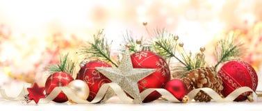 背景圣诞节关闭红色时间 免版税图库摄影