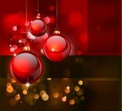 背景圣诞节典雅的传单海报 免版税库存照片