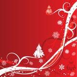 背景圣诞节冬天 免版税库存照片