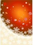 背景圣诞节冬天 库存照片