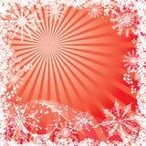 背景圣诞节向量冬天 免版税库存图片