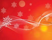 背景圣诞节向量 图库摄影