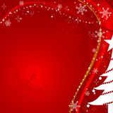 背景圣诞节向量 免版税库存照片