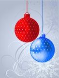 背景圣诞节向量 皇族释放例证