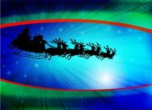背景圣诞节圣诞老人 库存图片