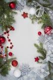 背景圣诞节垂直 免版税库存图片