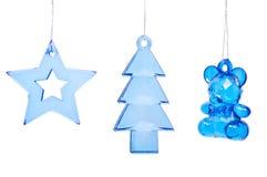 背景圣诞节戏弄结构树白色 库存图片