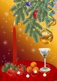 背景圣诞节新年度 免版税库存照片