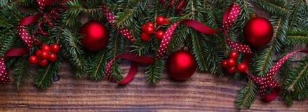 背景圣诞节新年度 库存照片