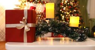 背景圣诞节新年度 股票录像