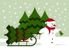 背景圣诞节构成的节假日场面 免版税库存照片