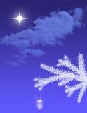 背景圣诞节构成的节假日场面 图库摄影