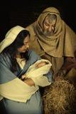 背景圣诞节构成的节假日场面 免版税图库摄影