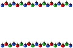 背景圣诞节框架 图库摄影