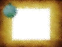 背景圣诞节框架grunge 免版税库存照片