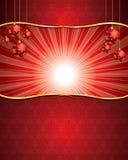 背景圣诞节海报 免版税库存图片