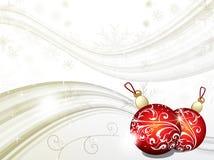 背景圣诞节灰色 库存图片