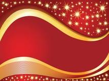 背景圣诞节红色 免版税库存照片
