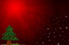 背景圣诞节红色 免版税图库摄影