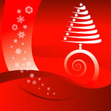 背景圣诞节红色 库存照片