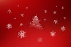 背景圣诞节红色 免版税库存图片