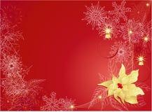 背景圣诞节红色 库存图片