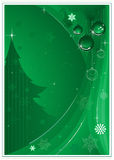 背景圣诞节绿色 皇族释放例证