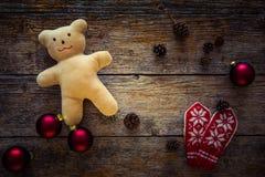 背景圣诞节装饰例证向量 库存图片