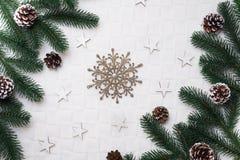 背景圣诞节装饰例证向量 图库摄影