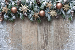 背景圣诞节装饰例证向量 免版税库存照片