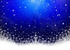 背景圣诞节装饰 皇族释放例证