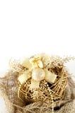 背景圣诞节装饰 免版税库存照片