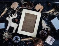 背景圣诞节计算机生成的愉快的图象快活的新的向量年 库存图片