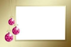背景圣诞节金范围三 免版税库存图片