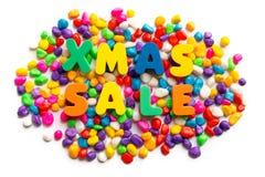 背景圣诞节销售额圣诞老人雪人xmas 免版税库存照片