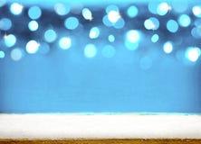 背景圣诞节雪雪花冬天 免版税库存图片