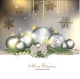 背景圣诞节魔术 库存照片