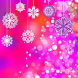 背景圣诞节christmass收集符号 免版税图库摄影