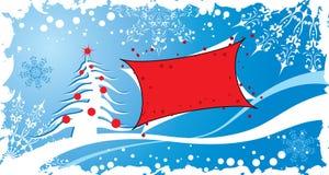 背景圣诞节grunge向量 库存图片