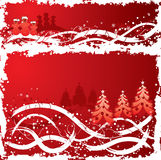 背景圣诞节grunge向量 免版税库存照片