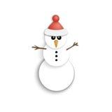 背景圣诞节hoiday模式无缝的雪人纹理 纸象 新年度 平的样式 库存图片