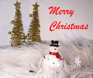 背景圣诞节hoiday模式无缝的雪人纹理 免版税图库摄影