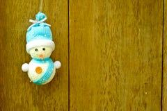 背景圣诞节hoiday模式无缝的雪人纹理 图库摄影