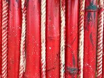 背景在样式的木材红颜色 免版税库存图片