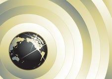 背景地球向量 免版税图库摄影