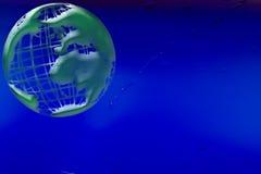 背景地球绿色 免版税库存照片