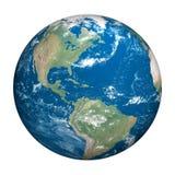 背景地球行星白色 免版税库存图片