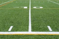 背景域橄榄球草绿色纹理 免版税库存照片