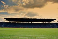 背景域橄榄球草绿色纹理 库存照片