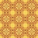 背景墙纸,分数维样式,淡黄色棕色 皇族释放例证